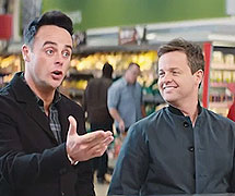 Morrisons 'Butcher' with Ant & Dec